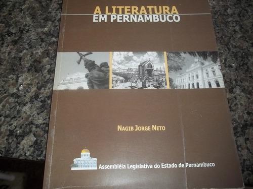 revista a literatura em pernambuco  nagib jorge neto