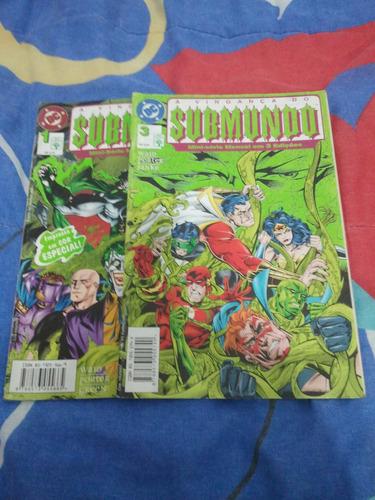 revista a vingança do submundo dc comics mini série 1 e 3