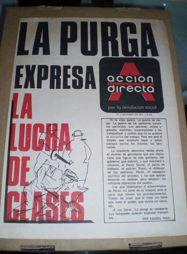 revista accion directa numero 2 1973