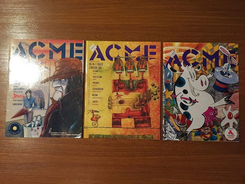 revista acme - no. 2, 3, 6