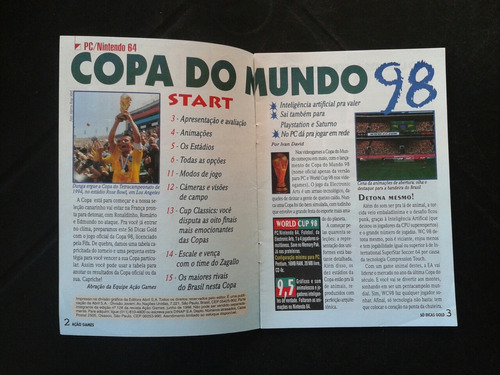 revista ação games
