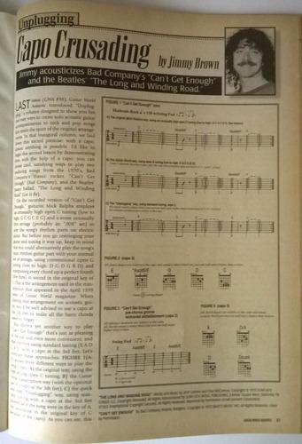 revista acousticguitar (importada) n°39