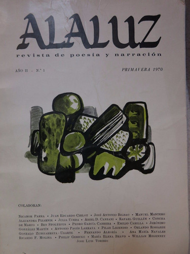 revista alaluz nicanor parra pizarnik pages larraya n° 1