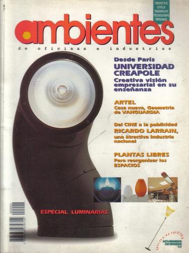 revista ambientes diciembre 1997