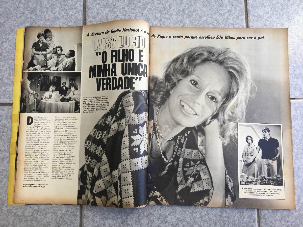 Dayse Lucidi Complete revista amiga 282 regina duarte daisy lucidi cid moreira - r$ 49