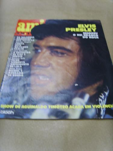 revista - amiga - elvis presley