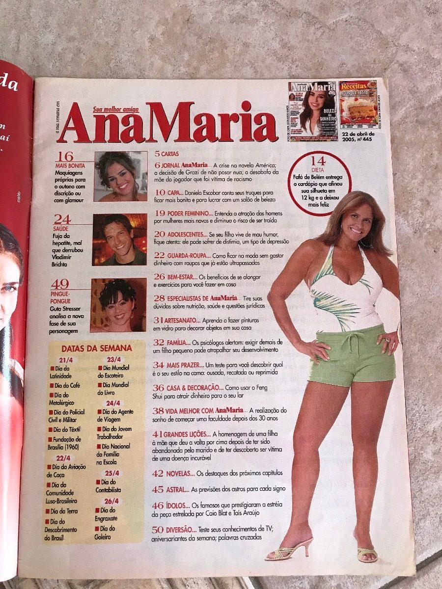 Ana Maria Nua revista ana maria 445 daniela escobar fafá de belém