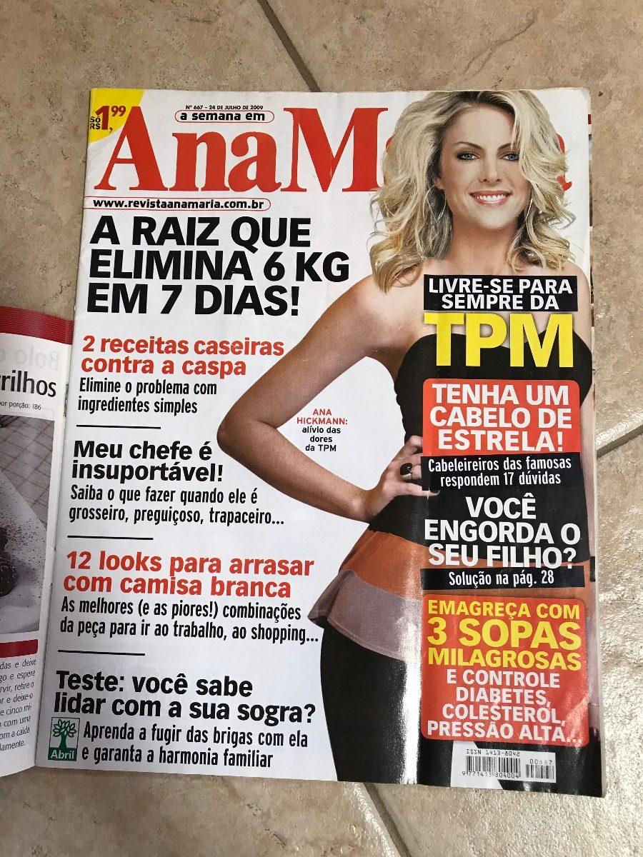 b0c1d211f Revista Ana Maria Ana Hickmann Totia Meirelles Laura Cardoso - R$ 27 ...