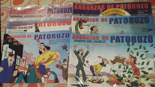 revista andanzas de patoruzú