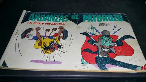 revista andanzas patoruzu 575 al diablo con satanas abr 1993
