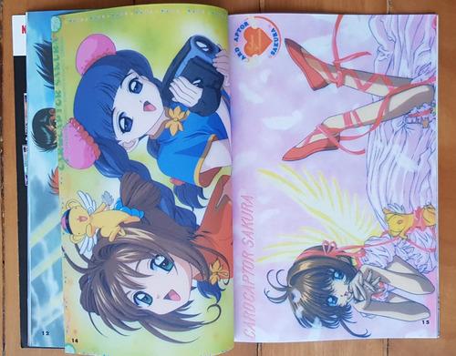 revista anime ex illustrations nº 2 dbz sakura yuyu evangeli