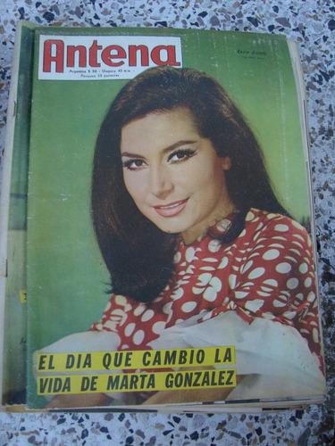 revista antena 1939 13/8/68 rocio jurado merello marshall