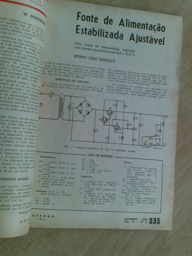 revista antenna 1976 76/6 - provador de tiristores e triaca