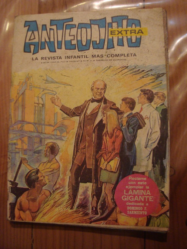 revista anteojito # 197 1968 impecable. sin lámina central.