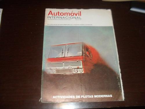 revista antiga 1971 automovil internacional mecanica