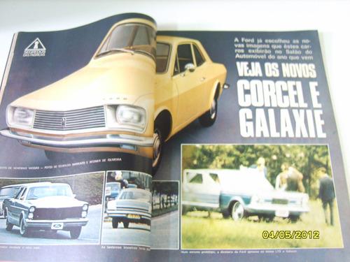revista antiga auto esporte junho 1971