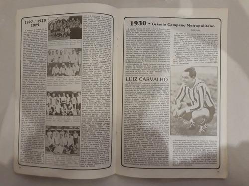 revista antiga grêmio edição especial-historia grêmio n 3
