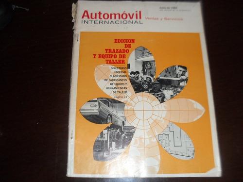 revista antiga  junho1965 automovil internacional mecanica