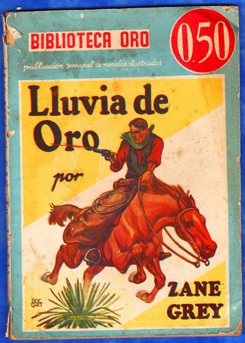 revista antigua bibloteca oro 1938 - ´´lluvia de oro´´