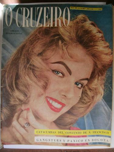 revista antigua cruceiro. coleccionable