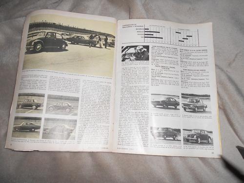 revista antigua de mecanica popular, buen estado año 1969