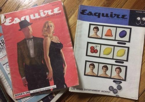 revista antigua esquire en español coleccionistas