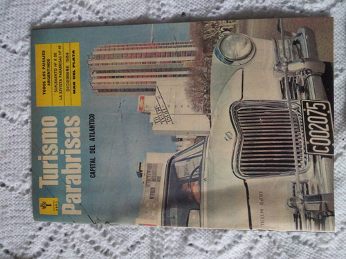 revista antigua parabrisas turismo 1964