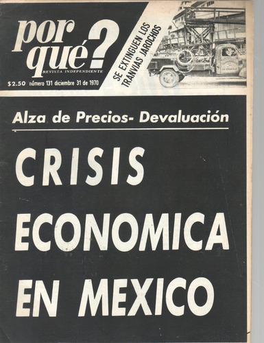 revista antigua por que? méxico 1969 20 ejemplares
