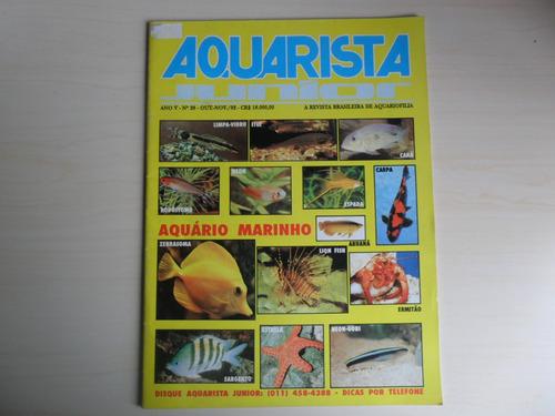 revista aquarista junior - nº 28 - ano v - 1992