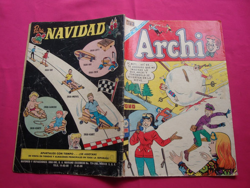 revista archi nº 300 año 1968 editorial novaro