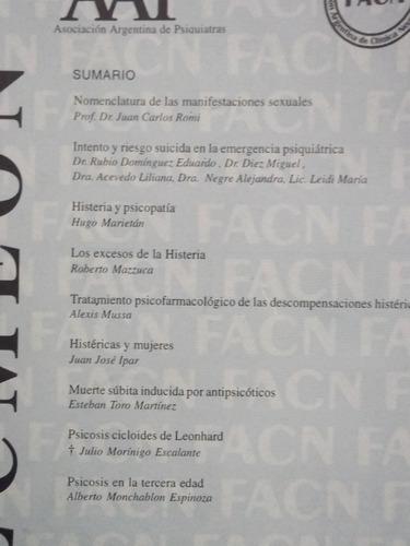 revista argentina de clinica neuropsiquiatrica abril 2004