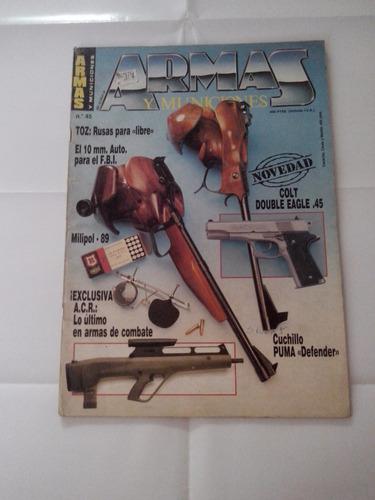 revista armas y municiones 45 colt double eagle 45