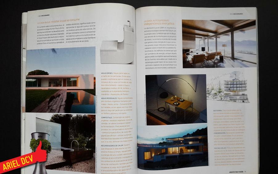 Y diseo revista hogares frescos diseo interior de for Revistas de arquitectura online