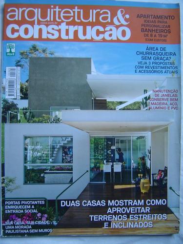 revista arquitetura construção