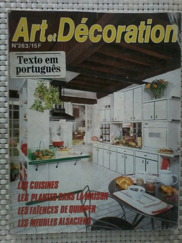 Revista Art Et Decoration No 263 Textos Em Portugues R 25