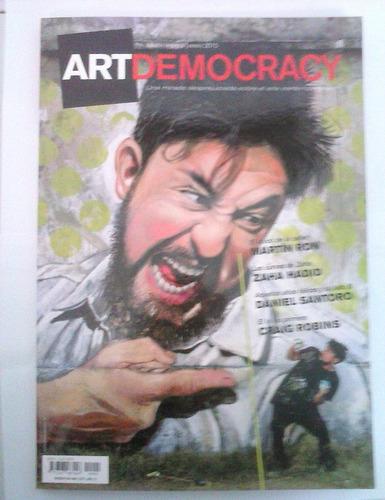 revista artdemocracy numero 1 arte