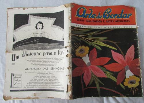 revista arte de bordar nº35 ano 1934 raríssima - a87