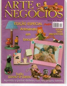 revista  arte e negocios nr. 13 - frete gratis