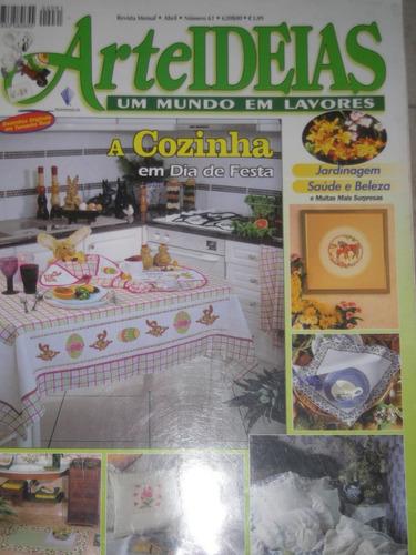 revista arte ideias n 61 cozinha - com gráfico