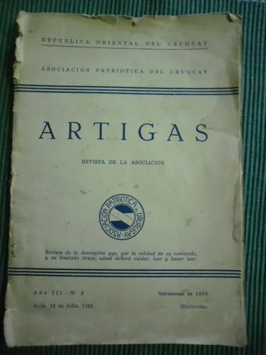 revista artigas asociacion patriotica leer