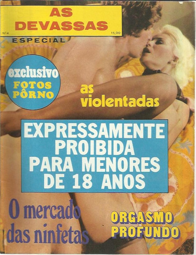 revista as devassas n° 4
