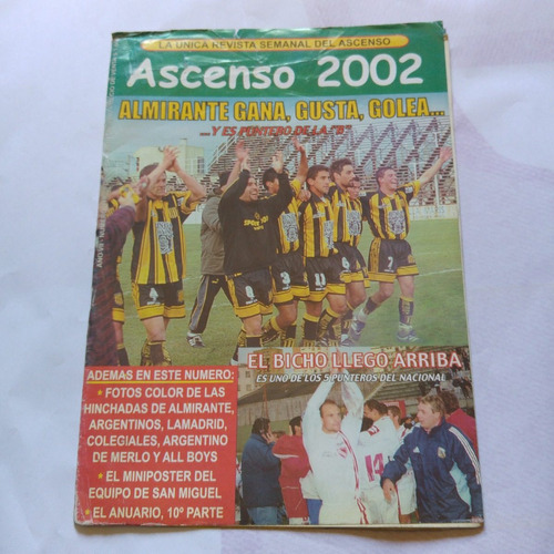 revista ascenso 2002 348 almirante brown san miguel