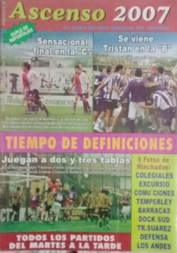 revista ascenso n°536.cole,excursio,comu,temperley,los andes