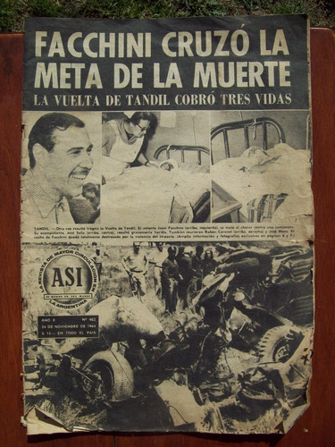 revista asi 462 j facchini accidente tc vuelta de tandil