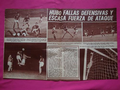 revista asi es boca n° 711 año 1968 - boca 0 - newell´s 3