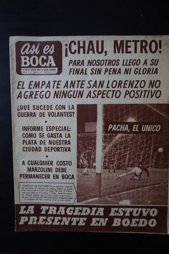 revista  asi es boca nº 951 4/10/1972