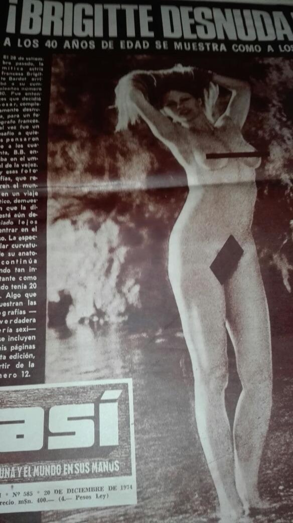 Revista Asíliberartodo Malvinasbrigitte Bardot Desnuda 18000