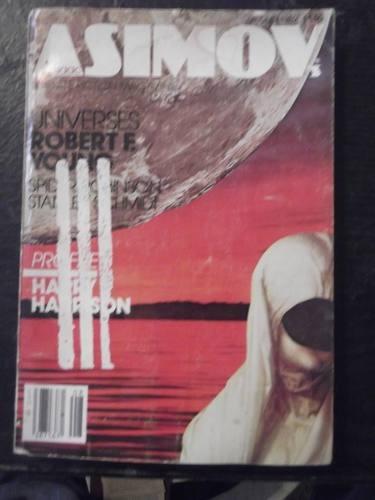 revista asimov science fiction agosto 1982 en ingles