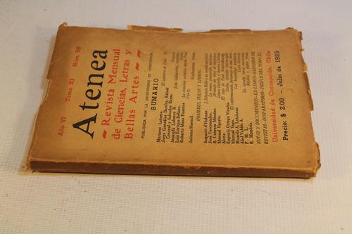 revista atenea año 1929 numero 55