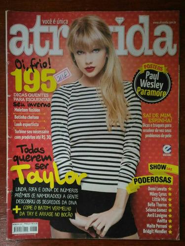 revista atrevida capa taylor swift - n° 227